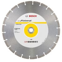 Bosch Pro Universal Standard Diamond blade 300mm with a bore of 20mm - 2608615032