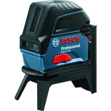 Bosch Professional 0.601.066.E00 Livella Laser a Croce GCL 2-15, Blu