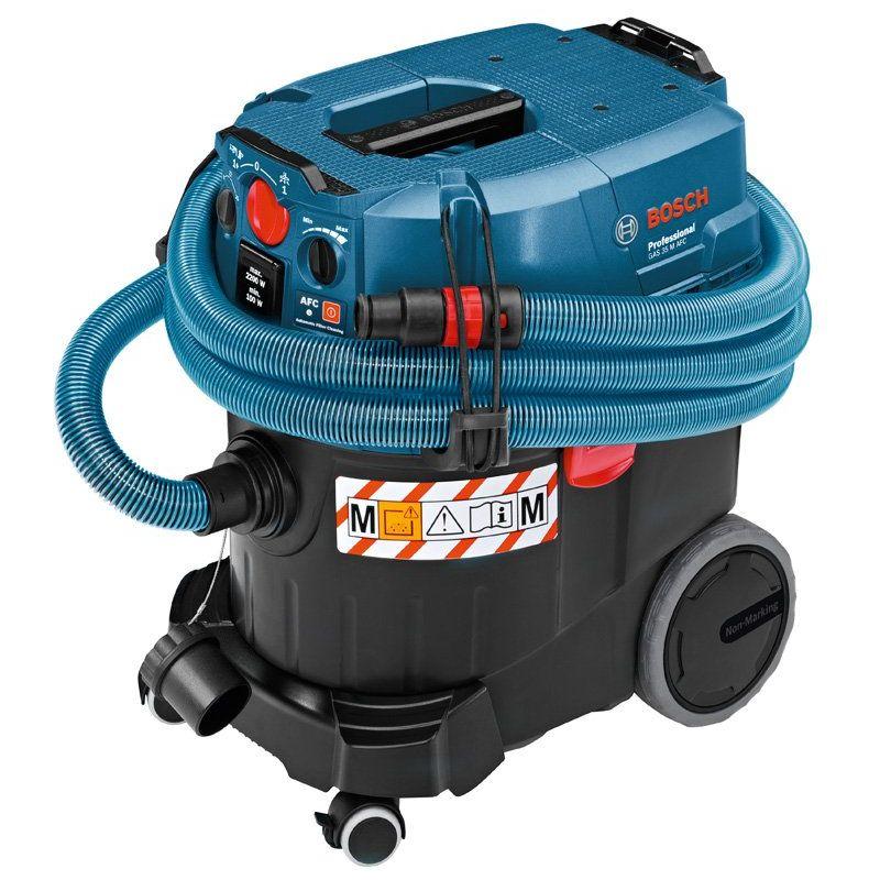 Bosch Professional 06019C3100 GAS 35 M AFC Aspiratore a Umido a Secco