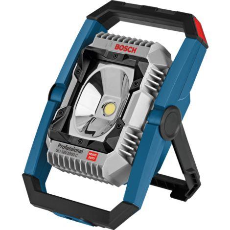 Bosch Professional Akku-Lampe GLI 18V-1900C Professional, LED-Leuchte, blau, ohne Akku und Ladegerät