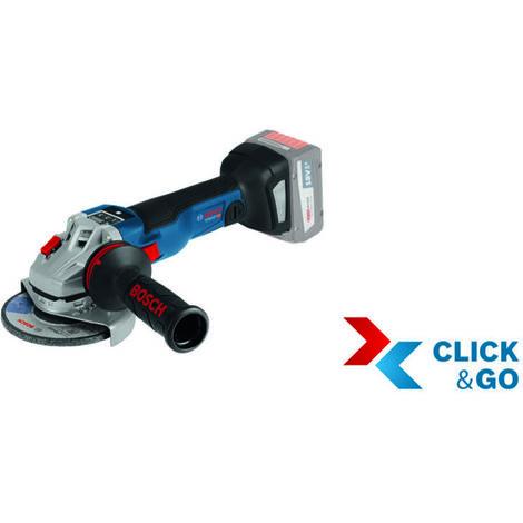 Makita DGA513Z Akku-Winkelschleifer 18V Set mit Quick-Spannmutter 10 Scheiben