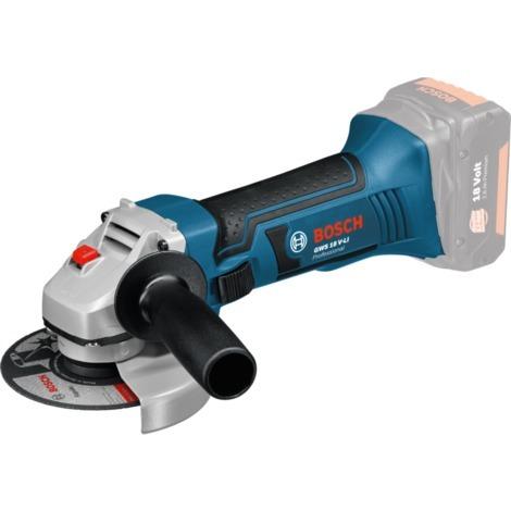 Bosch Professional Akkuwinkelschleifer GWS 18-125 V Li Professional, Winkelschleifer, blau/schwarz