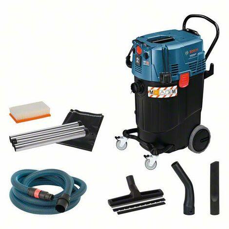 Bosch Professional Aspirateur pour solides et liquides GAS 55 M AFC, 1 200 W - 06019C3300