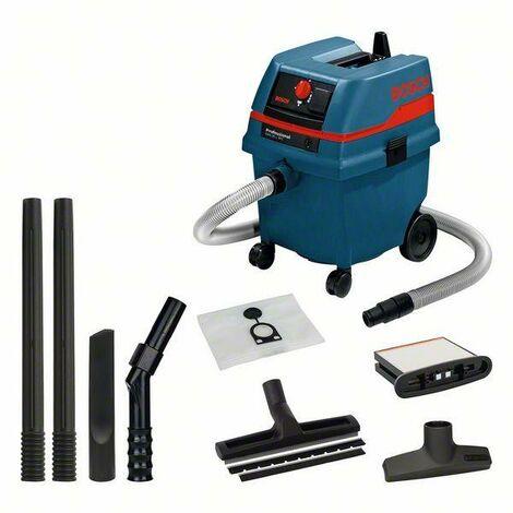Bosch Professional Aspirateur tout usage GAS 25 avec accessoires, 1 200 W - 0601979103