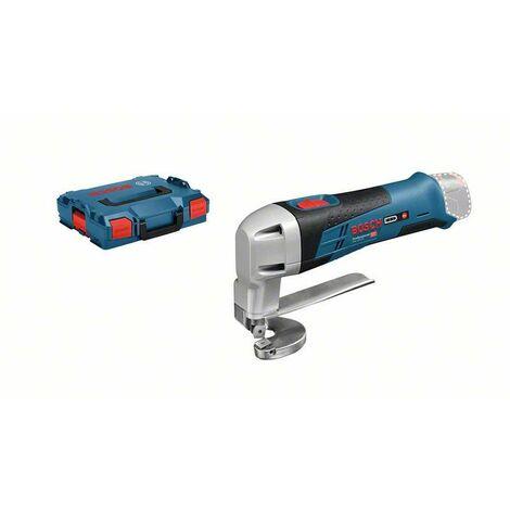 Bosch Professional Cisaille à tôle sans-fil GSC 12V-13, L-BOXX (sans batterie ni chargeur) - 060192610A