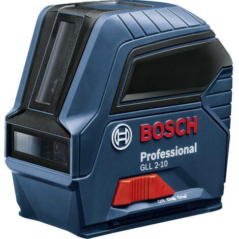 Bosch Professional GLL 2-10 Laser a linee autolivellante, incl. custodia Raggio di azione (max.): 10 m