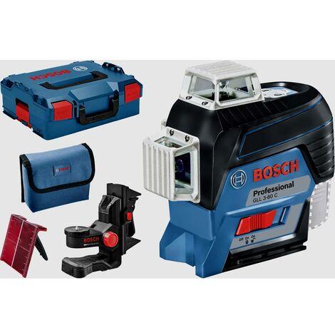 Bosch Professional GLL3-80C Laser a linee Raggio di azione (max.): 120 m