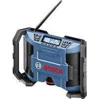 Bosch Professional GML 10,8 V-LI FM Radio da cantiere Blu, Nero