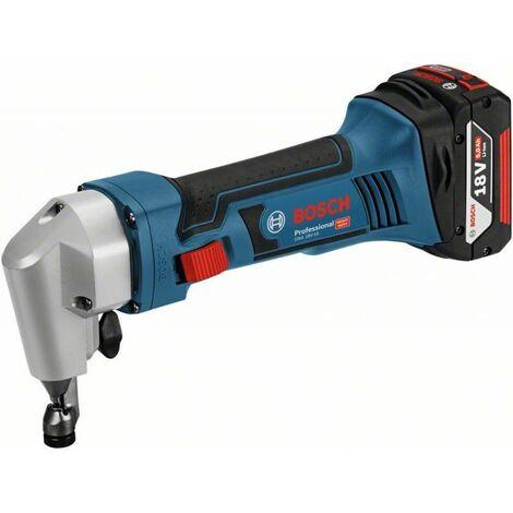 Bosch Professional Grignoteuse sans fil GNA 18V-16, avec 2 x 5,0 Ah Li-Ion batterie, L-BOXX - 0601529501