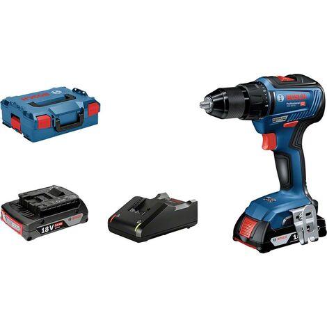 Bosch Professional GSR 18V-55 06019H5201 Perceuse-visseuse sans fil 18 V Li-Ion + 2 batteries, + mallette, + chargeur