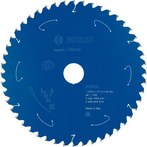Bosch Professional Kreissägeblatt Expert for Wood, 216mm, Sägeblatt