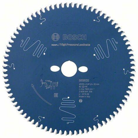 Bosch Professional Lame de scie circulaire EX TR B, 250x30-80, 250 x 30 mm, 80 dents - 2608644358