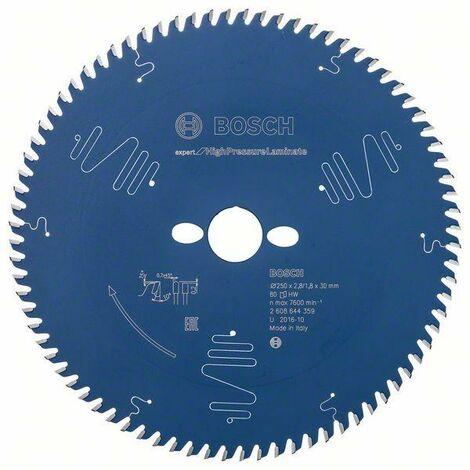 Bosch Professional Lame de scie circulaire EX TR T, 250x30mm, 80 dents - 2608644359