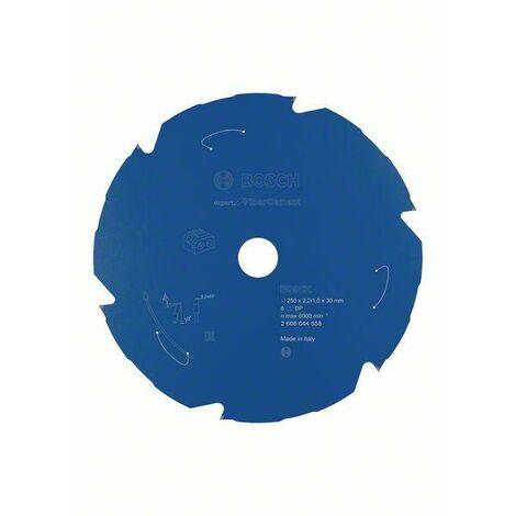 Bosch Professional Lame de scie circulaire Expert for Fibre Cement pour scies sans fil 250 x 2,2/1,6 x 30 T6 - 2608644558