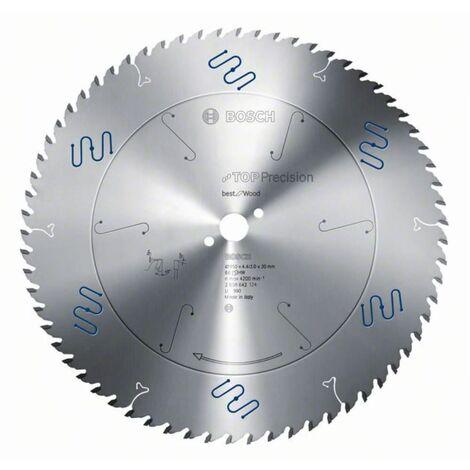 Bosch Professional Lame de scie circulaire Top Precision Best for Wood 165 x 20 x 1,8 mm, 48