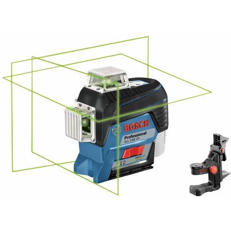 Bosch Professional Laser lignes GLL 3-80 CG Professional, sans chargeur ni batterie - 0601063T03
