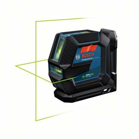 Bosch Professional Linienlaser GLL 2-15 G Professional, mit 4 x Batterie (AA), Laserzieltafel - 0601063W02