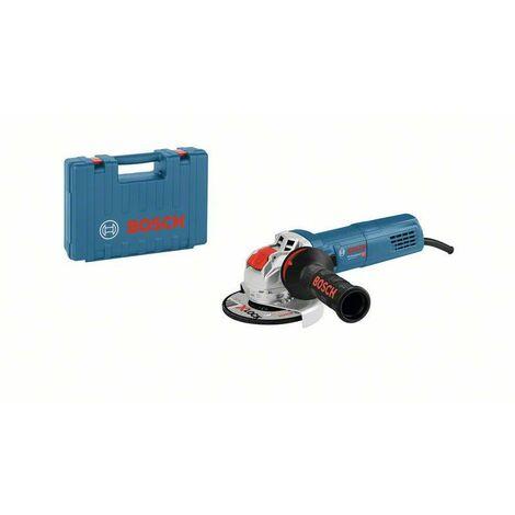 Bosch Professional Meuleuse angulaire GWX 9-115 S dans coffret de transport, 900 W - 06017B1000