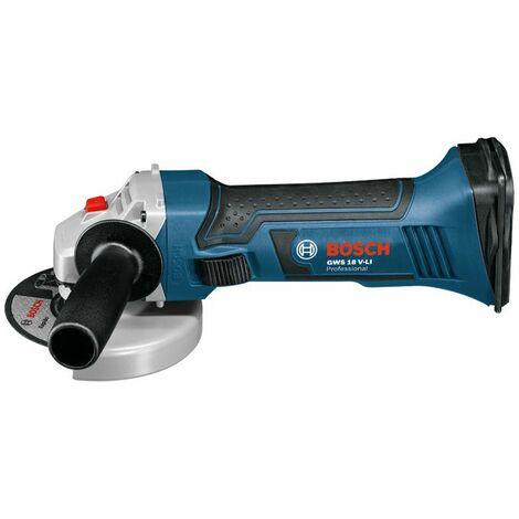 Bosch Professional Meuleuse angulaire sans fil GWS 18 V-LI (sans batterie ni chargeur) - 060193A300