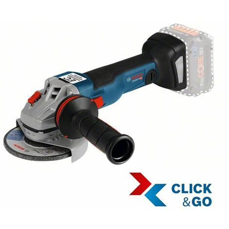 Bosch Professional Meuleuse angulaire sans fil GWS 18V-10 C (sans batterie ni chargeur) - 06019G320A