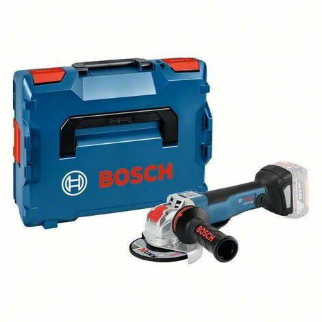 Bosch Professional Meuleuse angulaire sans fil GWX 18V-10 PC, L-BOXX, avec X-LOCK (sans batterie ni chargeur) - 06017B0700