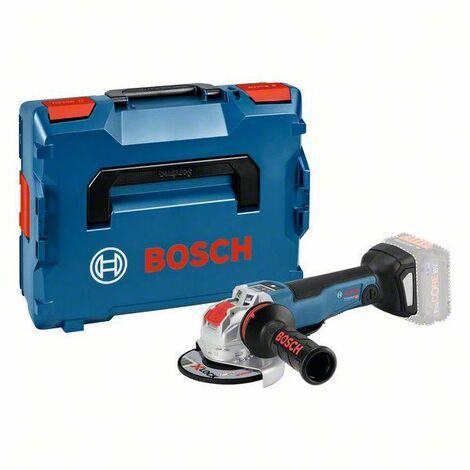 Bosch Professional Meuleuse angulaire sans fil GWX 18V-10 PSC, L-BOXX (sans batterie ni chargeur) - 06017B0800