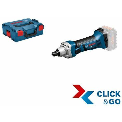 Bosch Professional Meuleuse droite sans fil GGS 18 V-LI Professional + L-BOXX (sans batterie ni chargeur) - 06019B5303