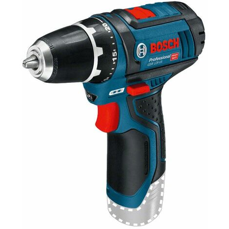 Bosch Professional Perceuse-visseuse sans fil GSR 12V-15 Professional (sans batterie ni chargeur) - 0601868101
