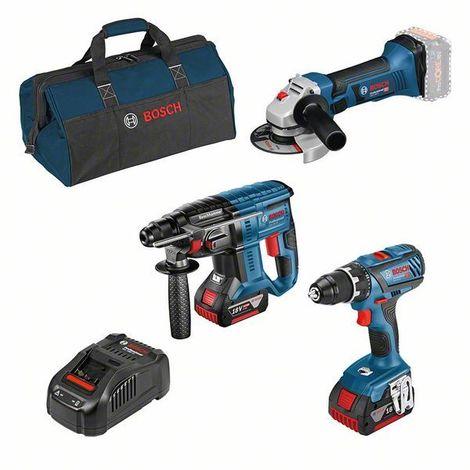 Bosch Professional Perceuse-visseuse sans fil GSR 18V-28 , 2 batteries, chargeur rapide - 0615990L58
