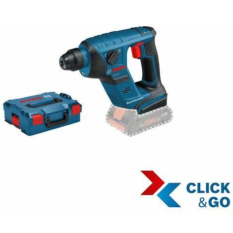 Bosch Professional Perforateur sans fil GBH 18 V-LI Compact Professional + L-BOXX (sans batterie ni chargeur) - 0611905304
