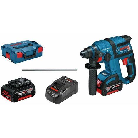 Bosch Professional Perforateur sans-fil SDS plus GBH 18 V-EC, 18V, 5Ah, 2 batteries - 061190400F