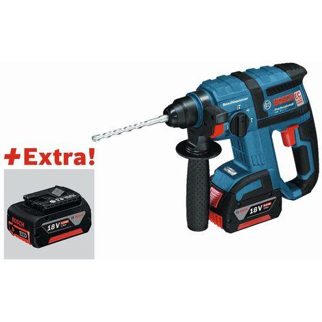 Bosch Professional Perforateur sans-fil SDS plus GBH 18 V-EC, avec 3 x 5,0 Ah Li-Ion Batterie, L-BOXX - 0615990HK8