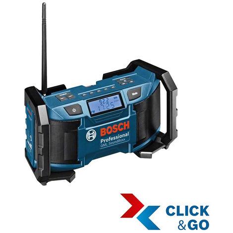 Bosch Professional Radio GML SoundBoxx (sans batterie ni chargeur) - 0601429900