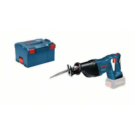 Bosch Professional Scie sabre sans fil GSA 18 V-LI Professional + L-BOXX, batterie et chargeur non inclus - 060164J007