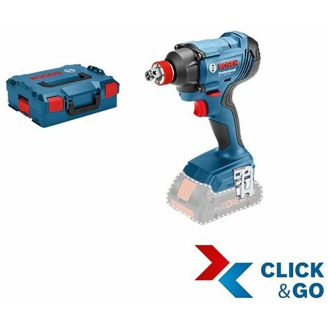 Bosch Professional Visseuse à chocs/boulonneuse sans fil GDX 18V-180, sans batterie et chargeur, L-BOXX - 06019G5202