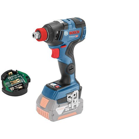 Bosch Professional Visseuse à chocs sans fil GDX 18V-200 C, GCY 30-4, L-BOXX (sans batterie ni chargeur) - 06019G4203