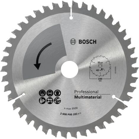 Bosch Profiline lame de scie circulaire special 160x2x20, T42