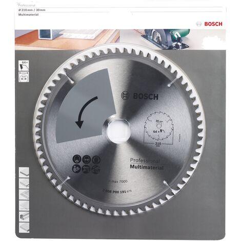Bosch Profiline lame de scie circulaire special 210x2x30, T64