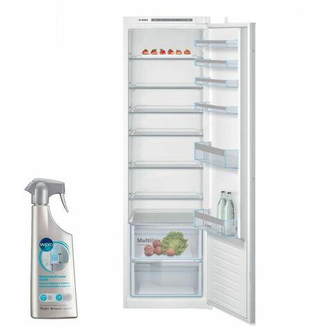 BOSCH réfrigérateur frigo simple porte intégrable 319L Froid statique FreshSense