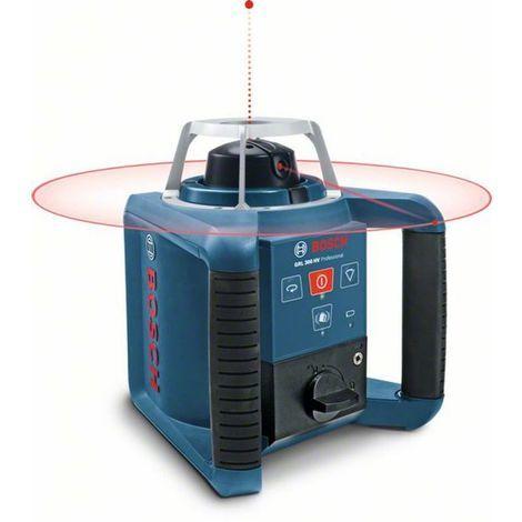 Bosch Rotationslaser GRL 300 HV, mit RC 1, WM 4 und LR 1 0601061501