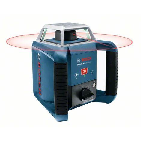 Bosch Rotationslaser GRL 400 H, mit Laserempfänger LR 1 und Transportkoffer 0601061800