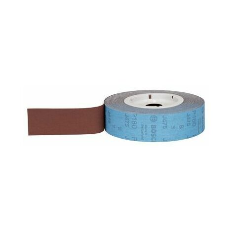 Bosch 2608608787 Rouleau abrasif tissu J470 100 mm x 50 m 120