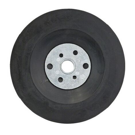 Bosch Rubber Backing Pad for Angle Grinders 115mm M14 (2608601005)