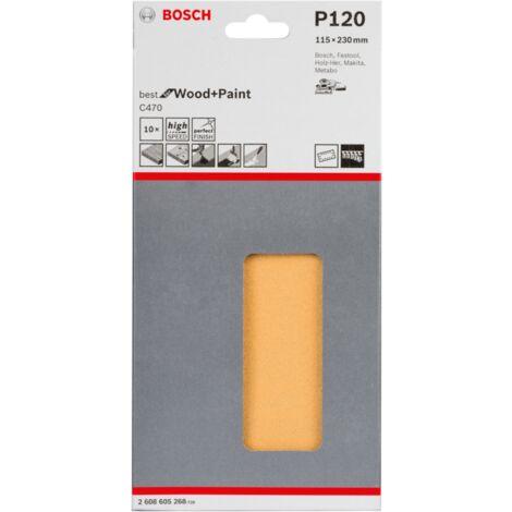 Bosch Schleifblatt C470, 10er-Pack 2608605268