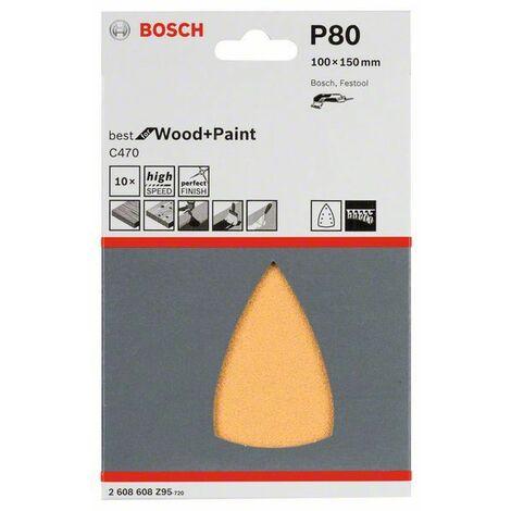 Bosch Schleifpapier C470 100x150 mm