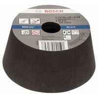 Bosch Schleiftopf, konisch-Metall/Guss 90 mm, 110 mm, 55 mm, 60