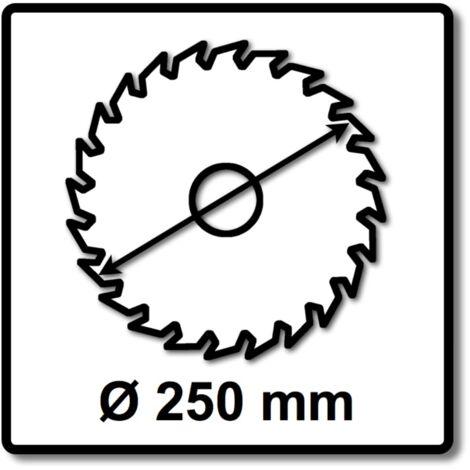 Bosch Scie circulaire sans fil Expert for Wood 250 x 1,6 x 30 mm - 48 dents pour bois ( 2608644523 )