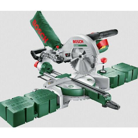 Bosch - Scie radiale Ø 216mm 1200W avec 4 rallonges latérales - PCM 8S - TNT