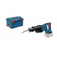 Bosch Scie sabre sans fil GSA 18 V-LI Professional + L-BOXX
