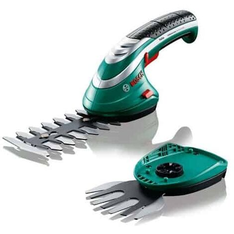 BOSCH Sculpte-haie & taille-herbe 3.6V Isio set 2 lames - 0600833102